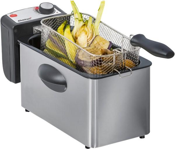Steba - stainless steel-fryer DF 180