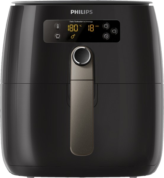 "Philips - Heißluft-Fritteuse ""Airfryer Twin TurboStar"" HD 9741"