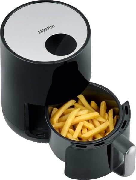 Severin - Hot Air Deep Fryer FR 2455, black/silver