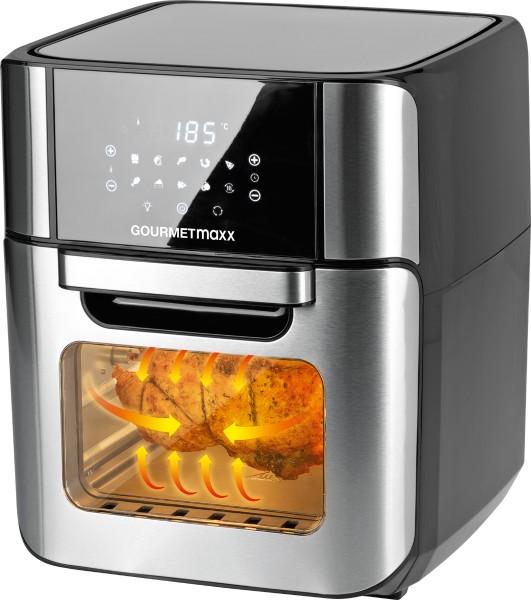 gourmetmaxx - GOURMETmaxx digital hot air deep fryer 12 l