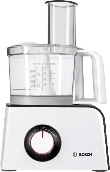 Bosch - Food Processor MCM 4100, white/anthracite