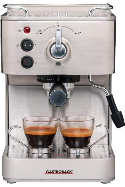 Gastroback - stainless steel Espresso machine