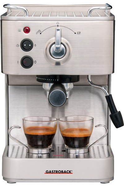 Gastroback - Edelstahl-Espressoautomat