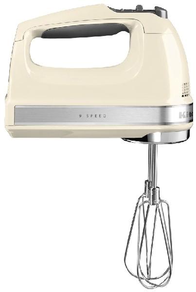 KitchenAid - hand mixer 5KHM9212, crème