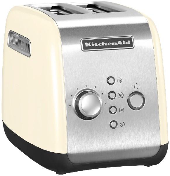 KitchenAid - Toaster 5KMT221, crème