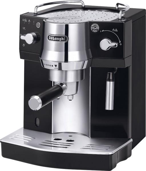 De'Longhi Espresso sieve carrier machine EC 820.B, black/chrome