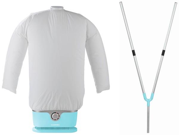 CLEANmaxx - Hemden-/Hosenbügler, hellblau