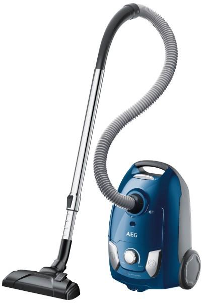 AEG - Bodenstaubsauger VX4-1-CB-P, blau