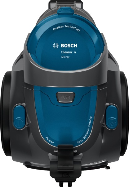 Bosch - bagless floor vacuum cleaner BGC05A220A energy class A (Spectrum A to G), stone grey