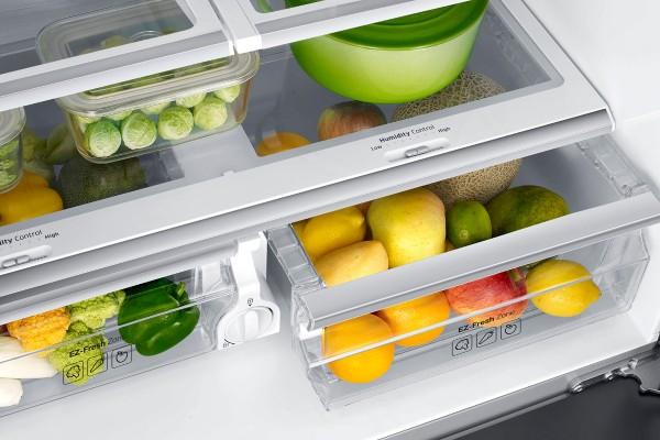 Side By Side Kühlschrank French Door Samsung : French door kühlschränke mit eisbereiter online kaufen saturn