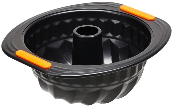 Le Creuset - Gugelhupfform 22 cm, schwarz   schwarz