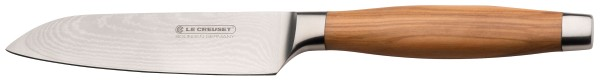 Le Creuset - Santoku knife 13 cm with olive wood handle
