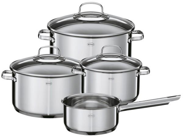 Rösle stainless steel pot set