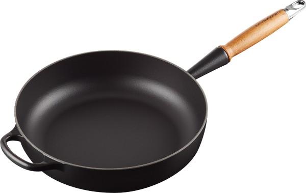 Le Creuset - Sautépfanne 28 cm, black