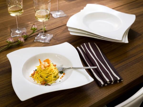 ipo pr mienservices villeroy boch pastateller new wave 4 tlg. Black Bedroom Furniture Sets. Home Design Ideas