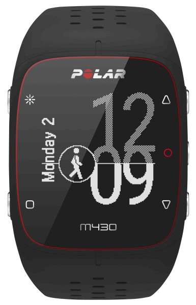 Polar - GPS-Laufuhr M430, schwarz
