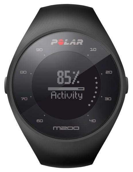 Polar - GPS-Laufcomputer M200, schwarz