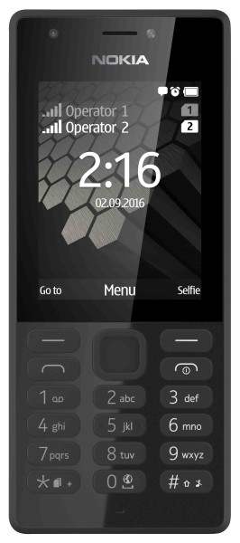 Nokia - Handy 216, schwarz