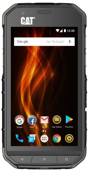 CAT - Smartphone S31 Dual Sim 16 GB, schwarz