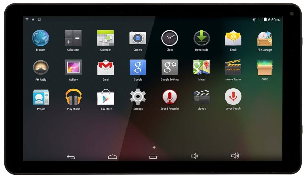 Denver - Tablet-PC TAQ-10253, schwarz