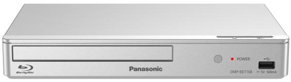 Panasonic - Blu-ray Player DMP-BDT168, silber  silber/platin