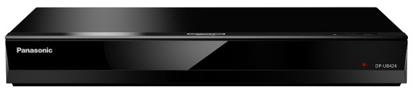 Panasonic - 4K Blu-ray Player DP-UB424EGK, black