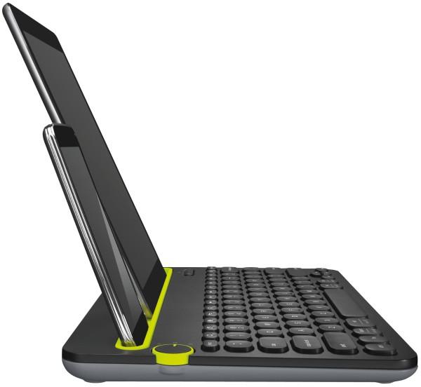 Logitech - Multi-Device Keyboard K480 mit Bluetooth, schwarz schwarz