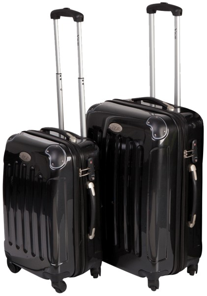 Vior by Mape - Trolley-Set 50+60 cm, schwarz