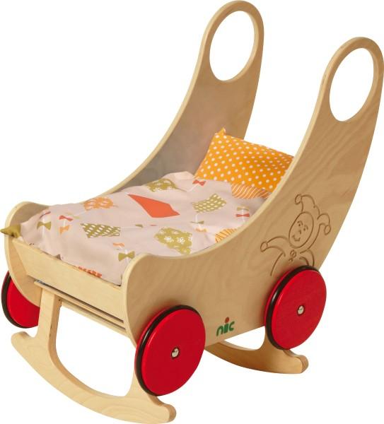Nic - Holz-Wiegewagen