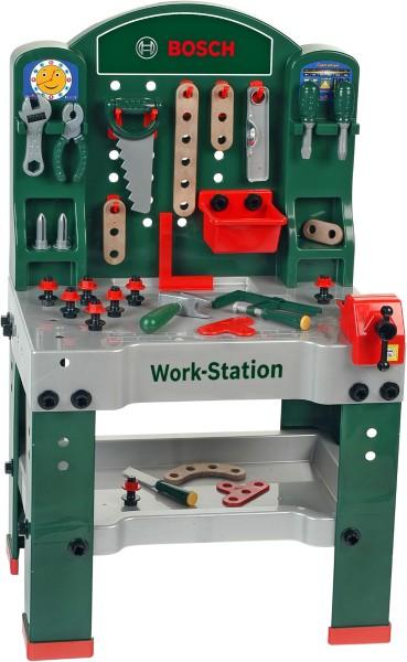 Bosch mini - Workstation mit viel Zubehör