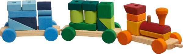 Glückskäfer - Holz-Formenzug, bunt