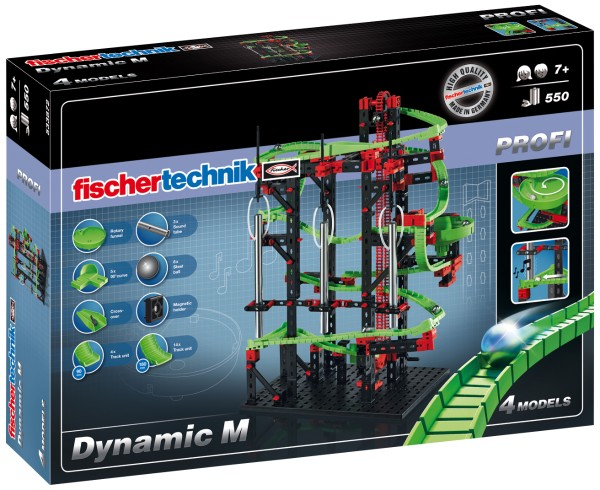 "Fischertechnik - Dynamic M"" professional model kit"