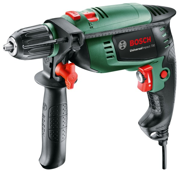 Bosch - percussion drill UniversalImpact 700 in case