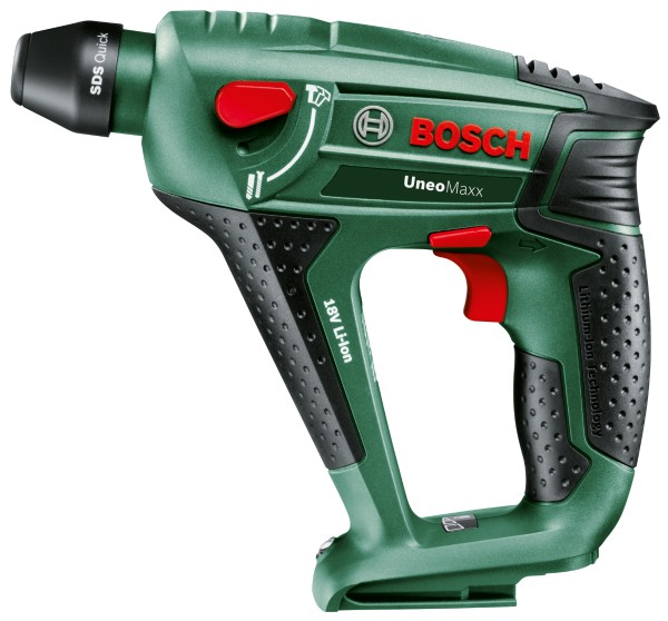 Bosch - cordless drill hammer Uneo Maxx with 2 batteries in case