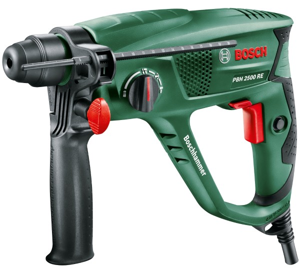Bosch - drill hammer PBH 2500 RE in the suitcase