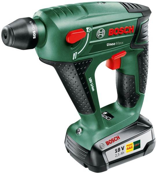 Bosch - Cordless rotary hammer UNEO Maxx in the suitcase