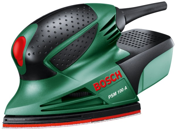 Bosch - Multisander PSM 100 A in the suitcase