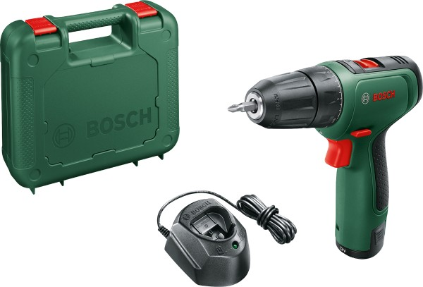 Bosch - cordless drill driver EasyDrill 1200 in case