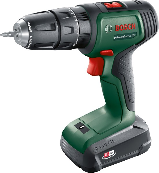 Bosch - UniversalImpact 18 V cordless impact drill in case