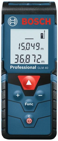 Bosch Professional - Laser-Entfernungsmesser GLM 40   blau