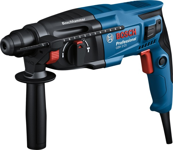 Bosch Professional - hammer drill GBH 2-21 in case