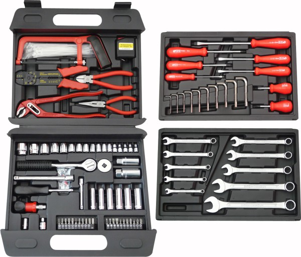 Famex - Universal-toolbox156-piece