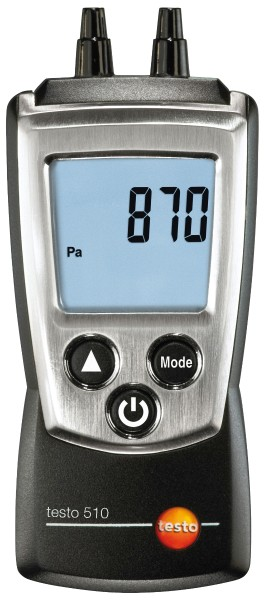Testo - testo Differenzdruck-Messgerät 510 silber/platin