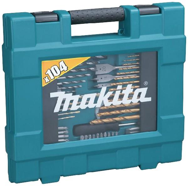 Makita - Bohrer-Bit-Set D-31778 104-tlg.  blau
