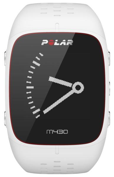Polar - GPS-Laufuhr M430, weiß