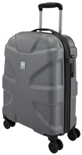 "Titan - Trolley ""X2 Shark Skin"" 55 cm, gun metal"
