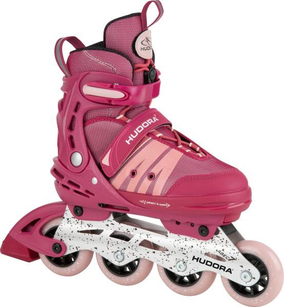 "Hudora - Inline Skates ""Comfort"" size 29-34, strong berry"